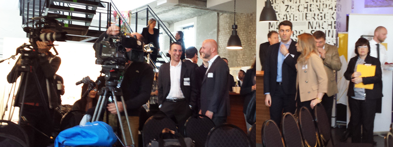 Einweihung des temporären Trainingszentrums in Hannover für Workshops zur Stärkung der digitalen Kompetenz