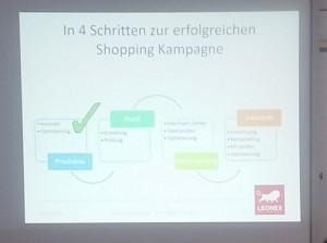 Google Shopping Ads Workshop auf der OMKB 2016