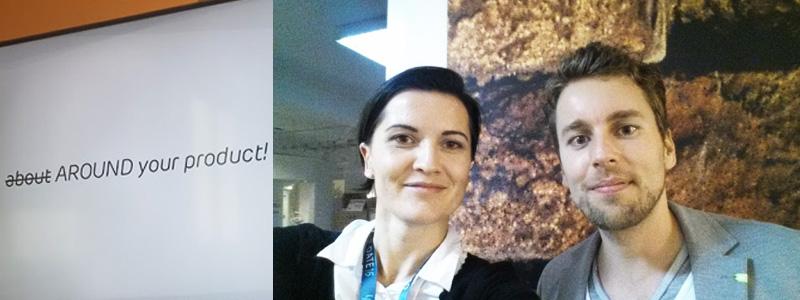 ABAKUS auf der Up-Date Konferenz 2016 - Anna Pianka und Patrick Klingberg