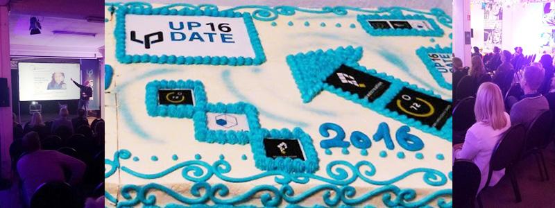 ABAKUS auf der Up-Date Konferenz 2016 - Riesige Torte