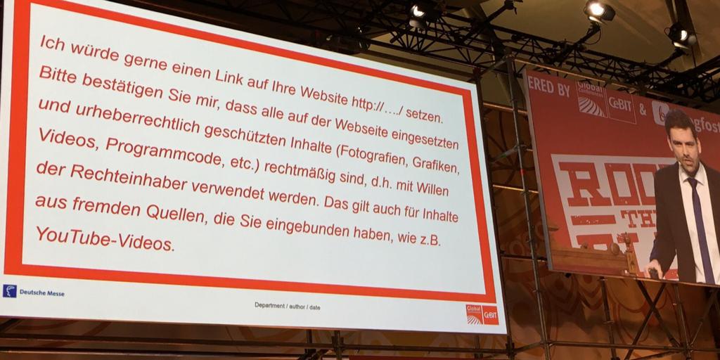Rock the Blog - Vortrag Dr. Schwenke