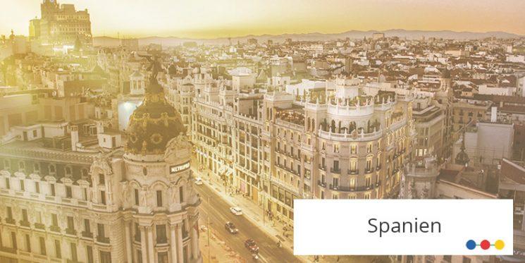 Blick auf Madrids Zentrum