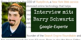 Interiew mit Barry Schwartz
