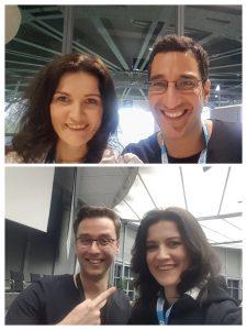 Merchantday 2018 - Khalil Agheli Zadeh, Ronny Marx und Anna Pianka