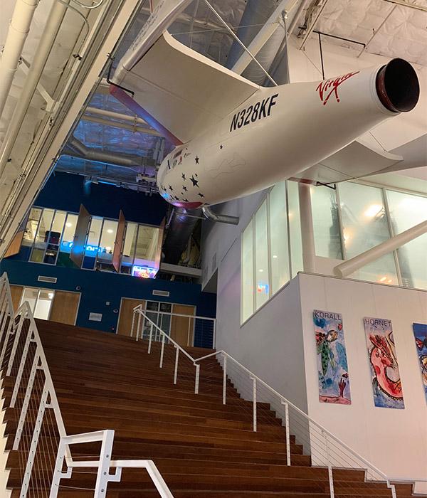 Besuch bei Google 2018 SpaceShipOne