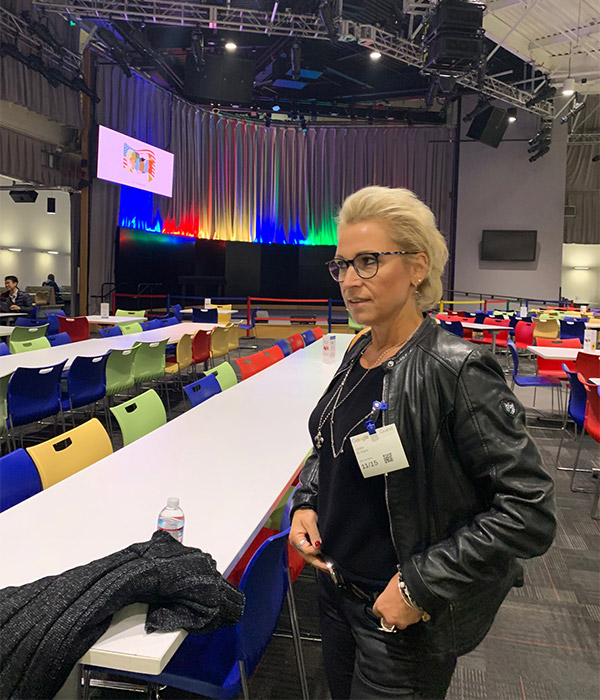 Ulrike DiCarlo besucht Google 2018